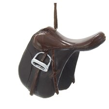Resin Horse Saddle Ornament