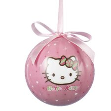 "3.15"" Hello Kitty Decoupage Ball Ornament"