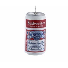 Budweiser Vintage Beer Can Blow Mold Ornament