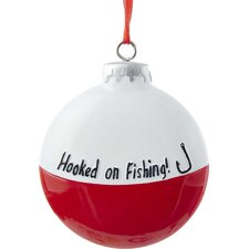 Resin Fishing Bobber Ornament