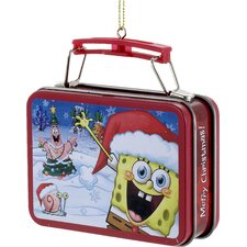 "3.18"" SpongeBob SquarePants Mini Lunch Box Ornament"