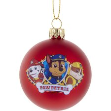 "2.36"" Paw Patrol Shatterproof Ball Ornament"