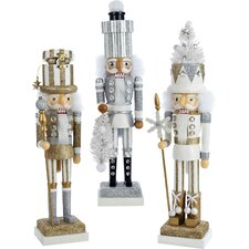 3 Piece Hollywood Nutcracker Set