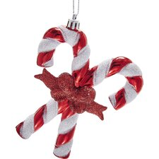 Shiny Candy Cane Ornament