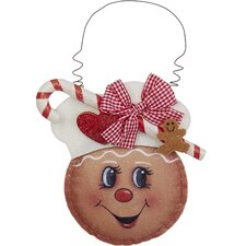Fabric Gingerbread Ornament