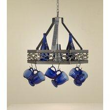 Napa Hanging Pot Rack with Light