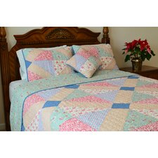 Angie Patchwork Reversible Quilt