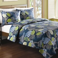 Tropical Leaves Quilt