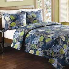 Tropical Leaves Quilt Collection