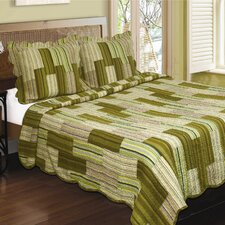 Camping Patchwork Stripe Quilt Collection