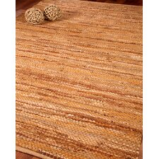 Adore Leather Hand Loomed Area Rug