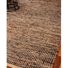 Cosmo Leather Hand Loomed Area Rug
