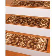 Sydney Chocolate Classic Persian Stair Tread (Set of 13)