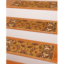 Sydney Gold Classic Persian Stair Tread (Set of 13)