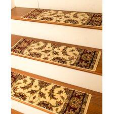 Sydney Cream Classic Persian Stair Tread (Set of 13)