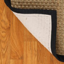 Seagrass Lancaster Black Area Rug