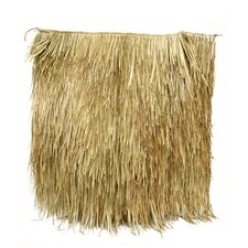"""48"""" x 48"""" Mexican Palm Thatch Panel (Set of 10)"""