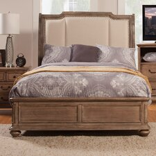 Melbourne Upholstered Panel Bed