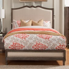 Charleston Upholstered Panel Bed
