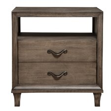 Charleston 1 Drawer Nightstand