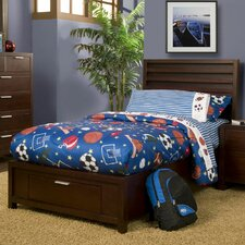 Urban Platform Bed with Storage