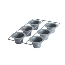 Advanced 6-Cup Nonstick Popover Pan