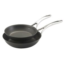 Nouvelle 2-Piece Copper-Core Non-Stick Skillet Set