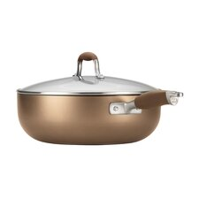 Advanced Bronze 6.5 Quart Covered Chef Pan