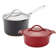Nouvelle Copper 4-Piece Non-Stick Starter Cookware Set