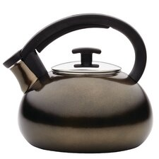 2-qt.Stainless Steel Tea Kettle in Umber