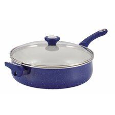 Ceramic Cookware 5-qt. Saute Pan with Lid