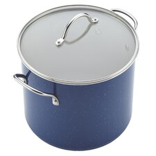 Ceramic Cookware 12 Qt. Stock Pot with Lid