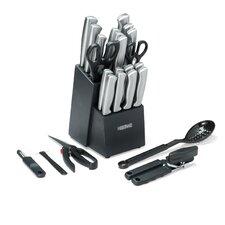 25 Piece Serrat Cutlery Block Set