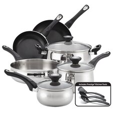 New Traditions Stainless Steel 12 Piece Cookware Set