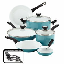 Ceramic Cookware Nonstick 12 Piece Cookware Set