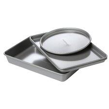 Faberware Nonstick 4 Piece Toaster Oven Bakeware Set