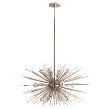 Zanadoo Polished Nickel 12 Light Chandelier