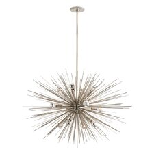 Zanadoo Gold 12 Light Chandelier