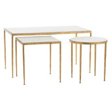 Rosemary 3 Piece Nesting Table