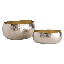 Alessandria 2 Piece Oval Container Set