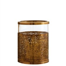 Benton Antique Brass / Glass Hurricane