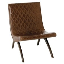 Danforth Quilted Leather Side Chair