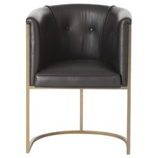 Calvin Top Leather Arm Chair