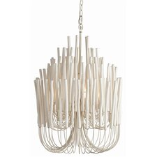 Tilda 5 Light Wood / Iron Chandelier