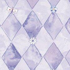"""Whimsical Children's Vol. 1 20.5' x 33"""" Trellis Wallpaper"""
