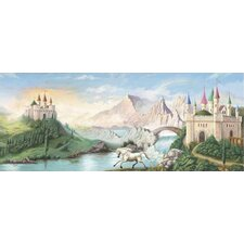 Enchanted Kingdom Castle Wall Mural