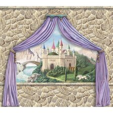 Enchanted Kingdom Castle Canopy Wall Mural