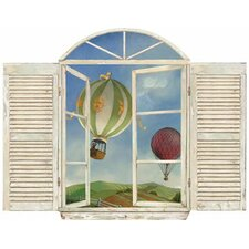 Balloon Window Wall Mural