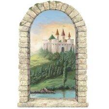 Castle Window Wall Mural