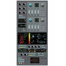Spaceship Control Panel Wall Mural